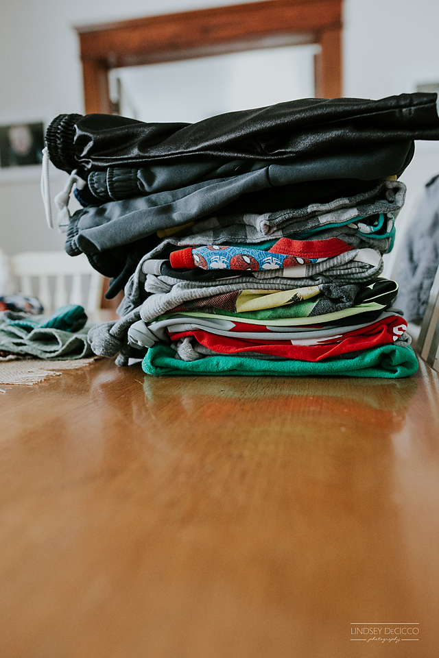 Wash, dry, fold.