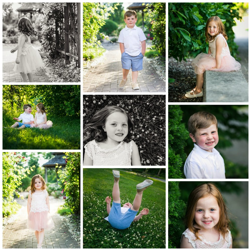 South Bend Family Pictures Collage