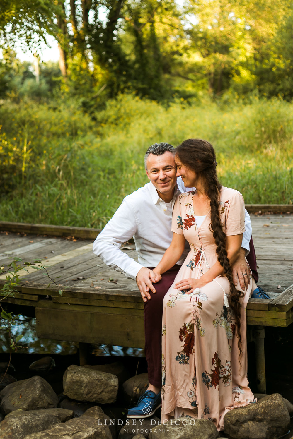 engagment session at Cobus County Park