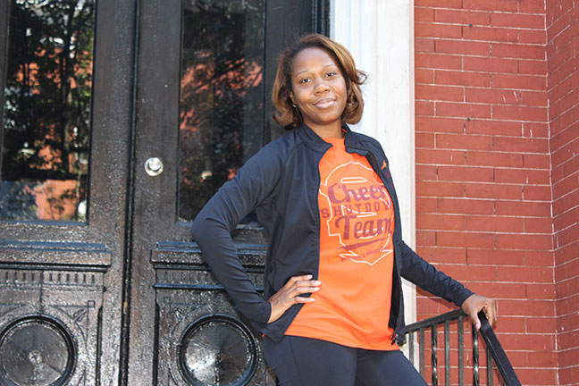 Tionne Scribner, Baltimore City: Building Strong Competitive Cheerleaders