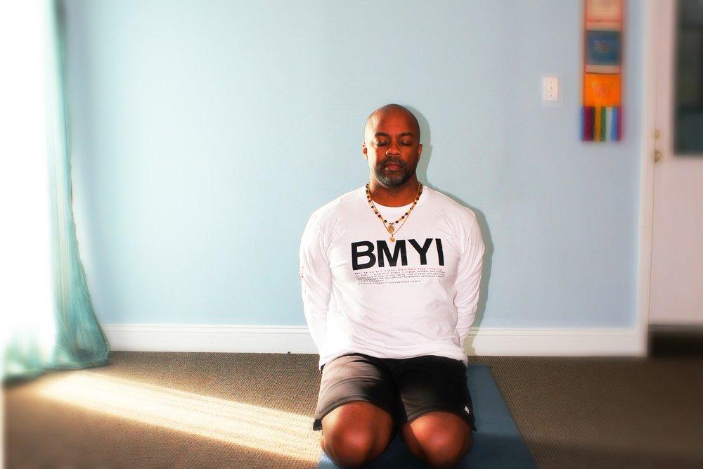 Changa Bell, Black Male Yoga Initiative (BMYI)