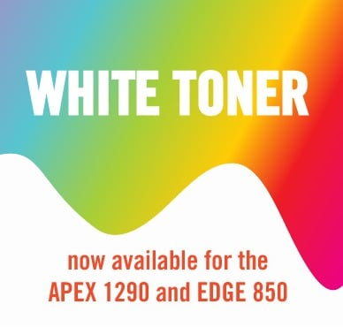White Toner iSys Label Digital Printers