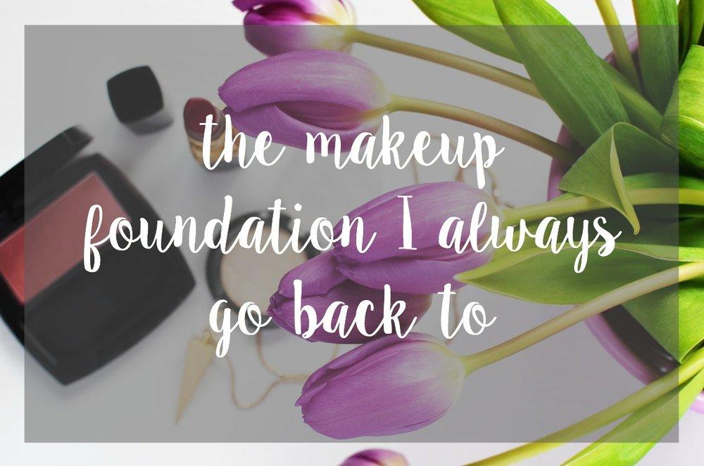 The makeup foundation I always go back to - Tarte Amazonian Clay Foundation