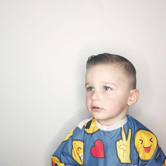 Little man haircut 💙 @ayses_beauty_page