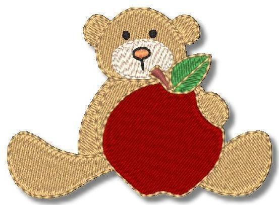 Schoolbear Apple