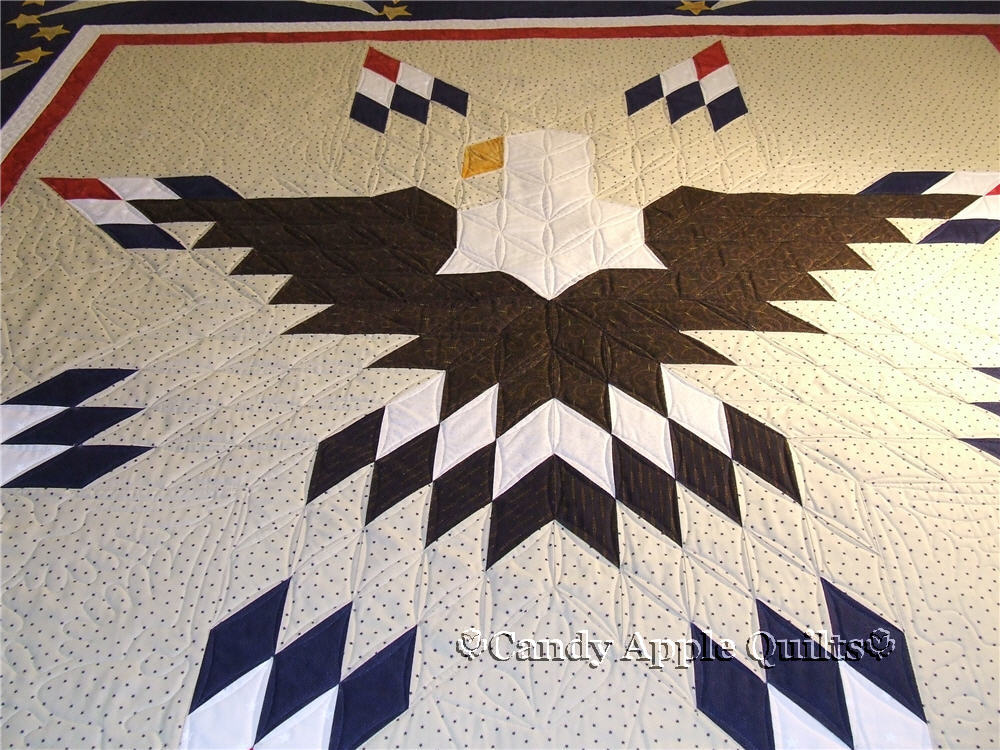 Patriotic Eagle Quilt Candy Apple Quilts
