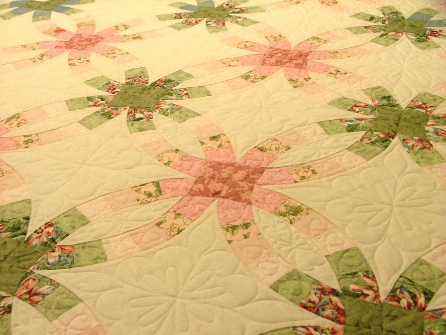 Double Wedding Ring Candy Apple Quilts