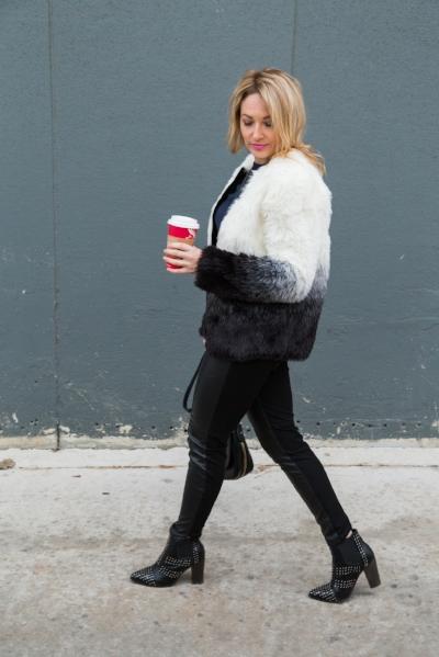 Fur coat under $45