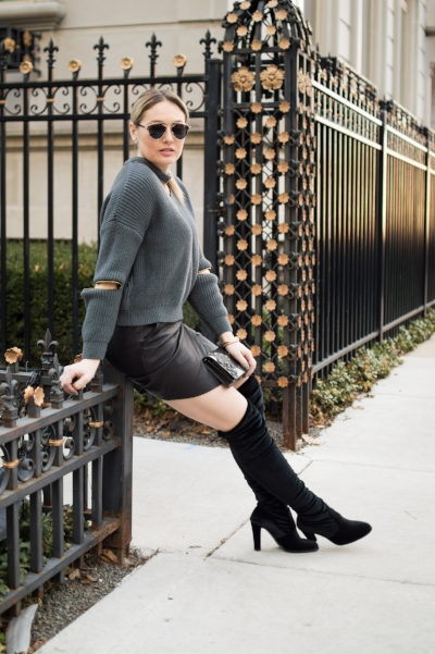 Over the knee boots are a MUST