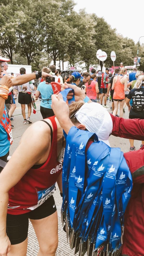 Hard earned Chicago Marathon Medal