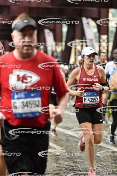 Photo curtesy of Chicago Marathon. Not the prettiest photo of me but you can see my focus and determination and that makes it the most powerful and beautiful pic from this marathon.