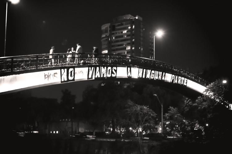 No vamos a ninguna parte Santiago, 2016