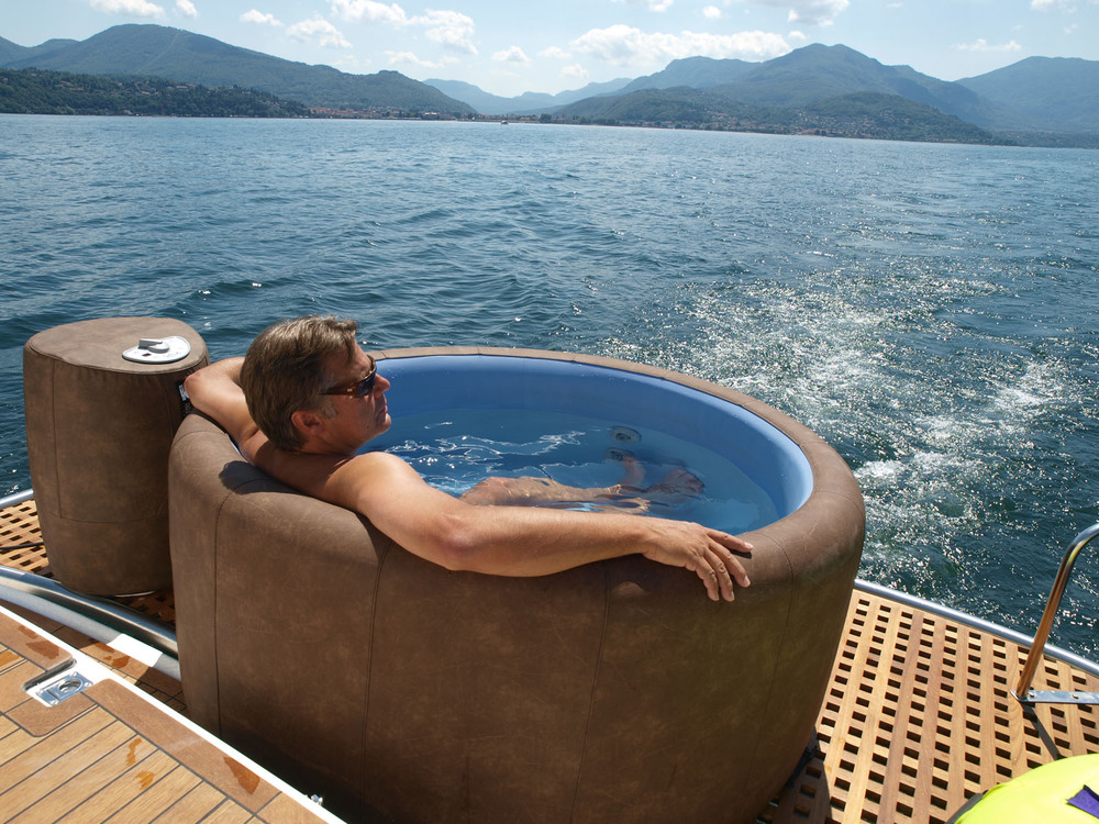 Softub on a Boat