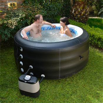 Inflatable tub - NOT a Softub