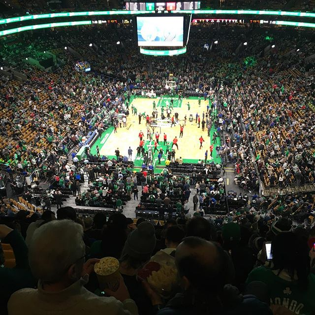 Trailblazers vs Celtics!  Former stomping ground vs the new one!