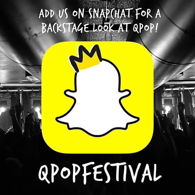 Add us on Snapchat to see some fun videos of us hanging with @theelwins as they get ready to perform!