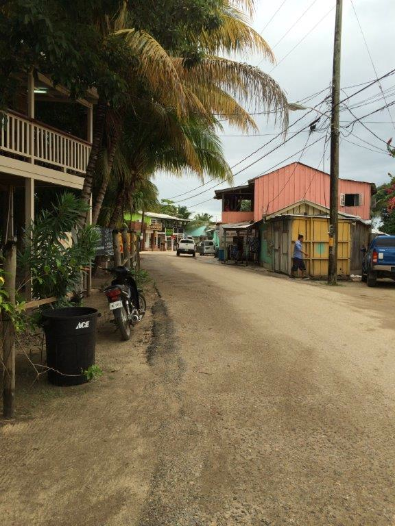 Main Street in Placencia