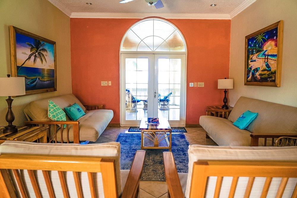 Living Room Lower Villa