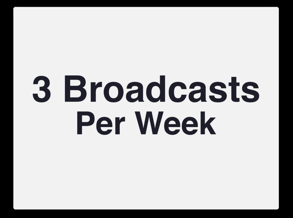 3 broadcasts per week.png