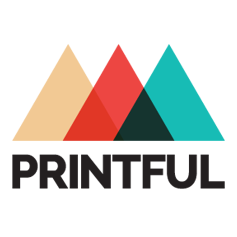 We believe in the brand so everything from our shirts, hats, coffee mugs and more are branded with our company logo. We trust Printufl to fulfill all of our merchandise needs. The beauty of Printful is that there is no minimum order amount and Printful ships directly to your customers so you don't have to store boxes of products. Click here to get started  https://bit.ly/2OA4RWP
