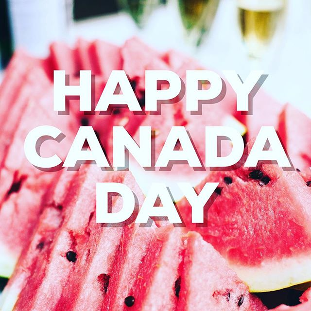Enjoy the long weekend! #canadaday #canadaday2018