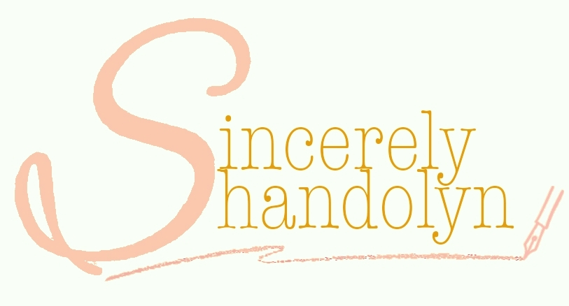 Sincerely Shandolyn