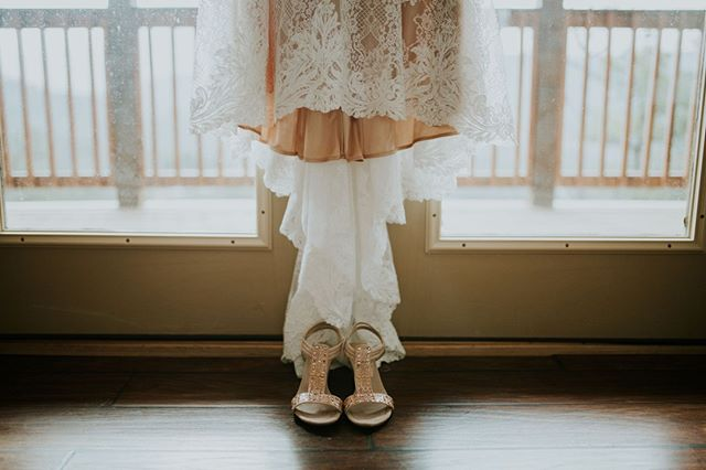 Good shoes are a must for any successful wedding day!  #weddingdetails #weddingshoes #agirlsbestfriend #knoxvillewedding #weddingdress #gsmnpwedding