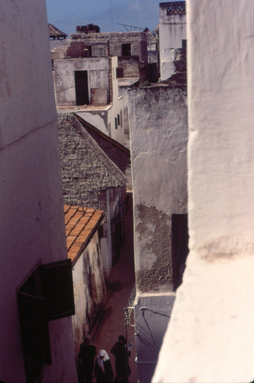 Lamu town buildings and street, Kenya, Summer 1994, Photo by (3) cropped.jpg