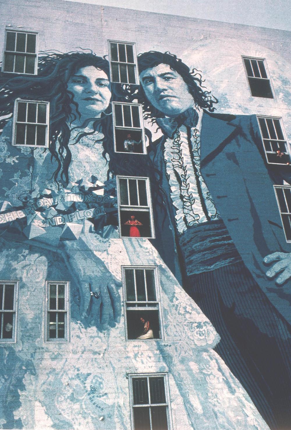 Murals kent twitchell for Biola jesus mural