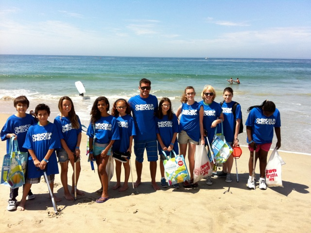 In partnership with Greg & Barbara MacGillivray's One World One Ocean Foundation, James was the co-hosted the Laguna Beach Clean-Up attended by the Boys & Girls Club of Laguna Beach.