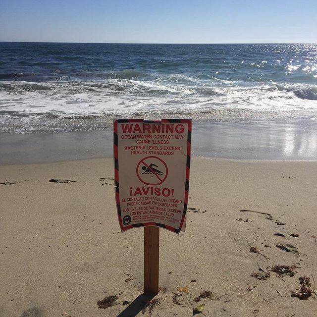 So sad to see this on our favorite beach, today in Laguna... #educate #motivate #activate #stoppollutingouroceans #stoplittering #doyourpart #wakeup #ecowarrior