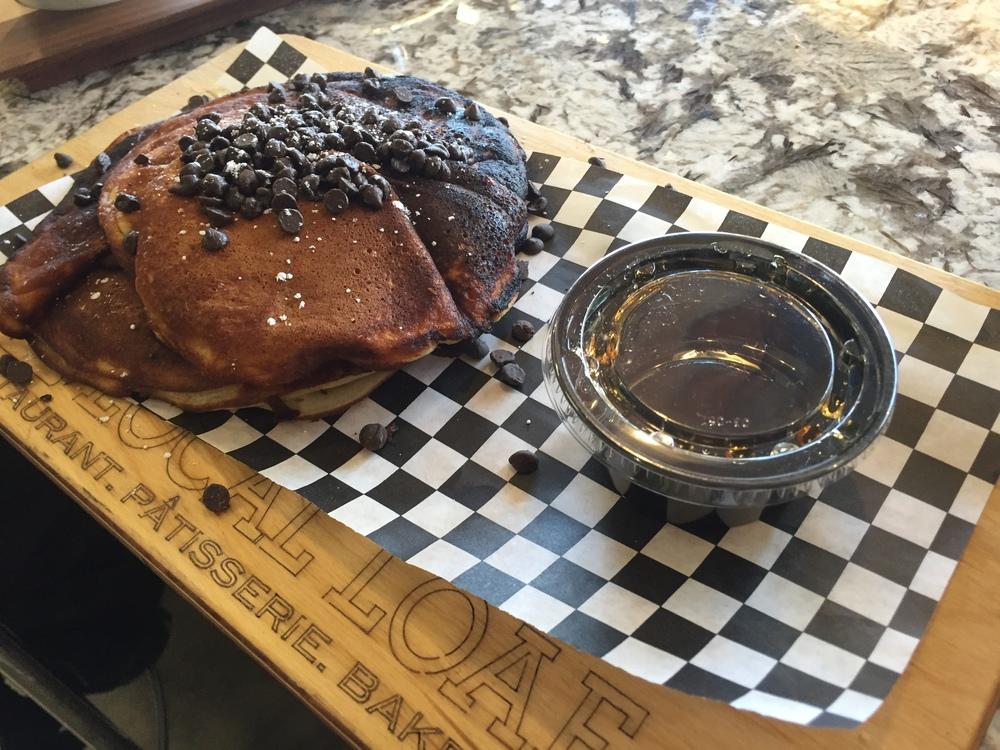 Chocolate Chip & Blueberry Pancakes