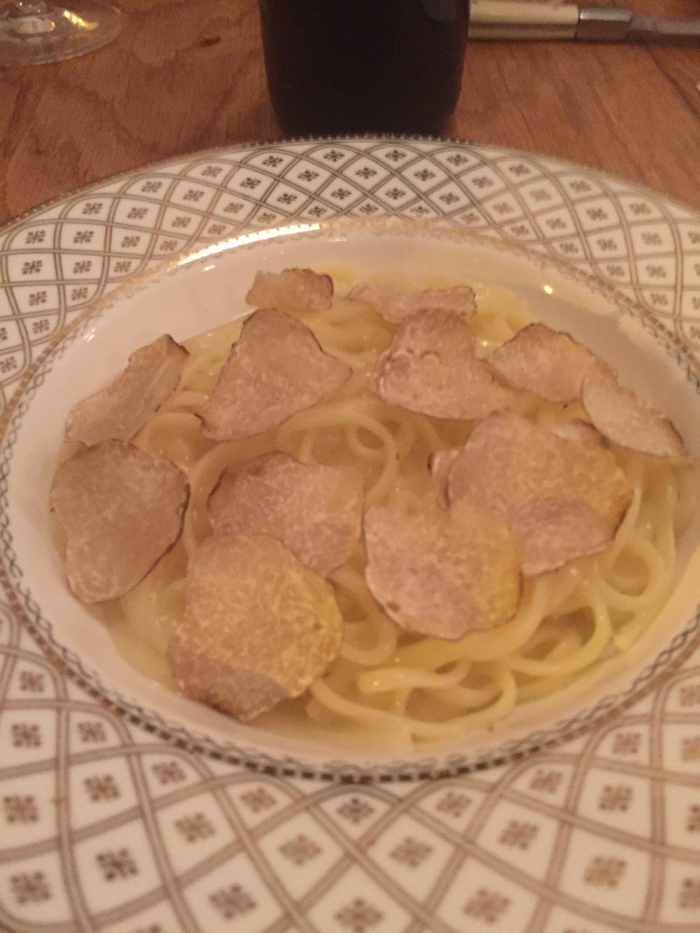 Off-Menu Truffle Pasta