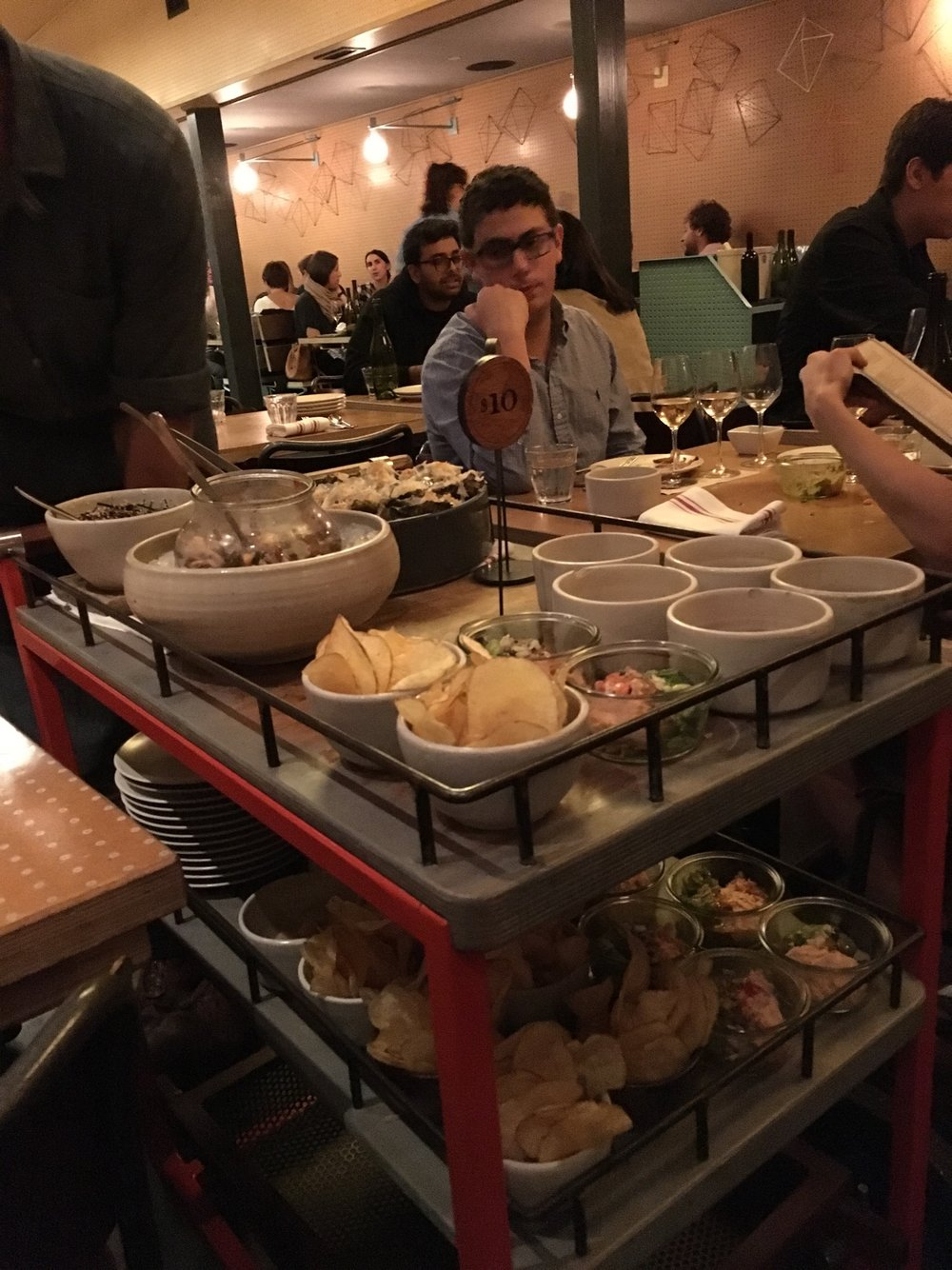 Dim sum cart (The guy at the table across was really intrigued)