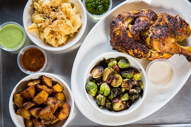 Check out that mac and cheese! Photo courtesy of   Charlotte Magazine