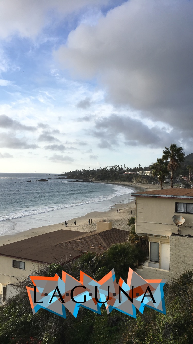 Check out this pretty picture of Laguna Beach! And no: I didn't see Lauren Conrad; yes: I am still upset about it.