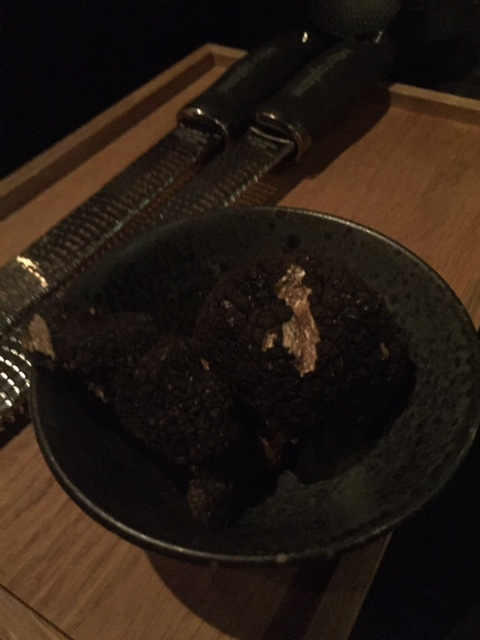 Just a bowl of truffles as black as my soul