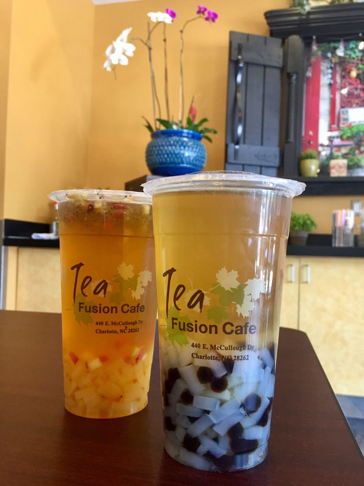 Bubble teas with boba and jellies//Photo courtesy of   Yelp