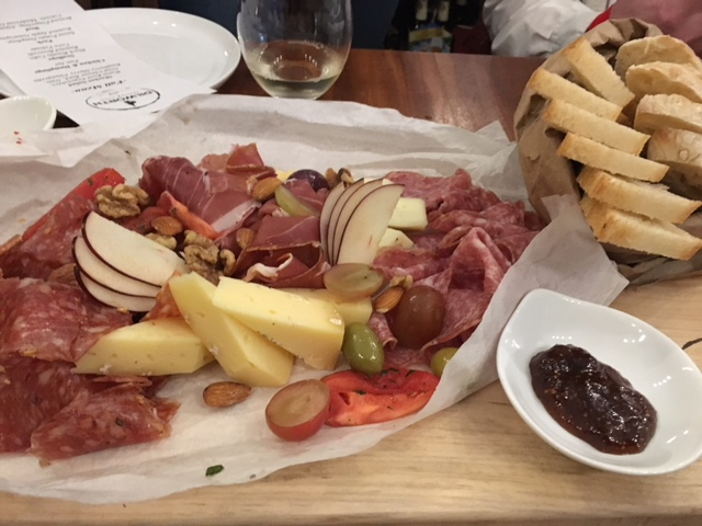 Cheese & Charcuterie Board -