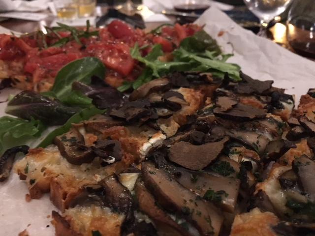Bruschetta  - Classic, & sauteed mushroom