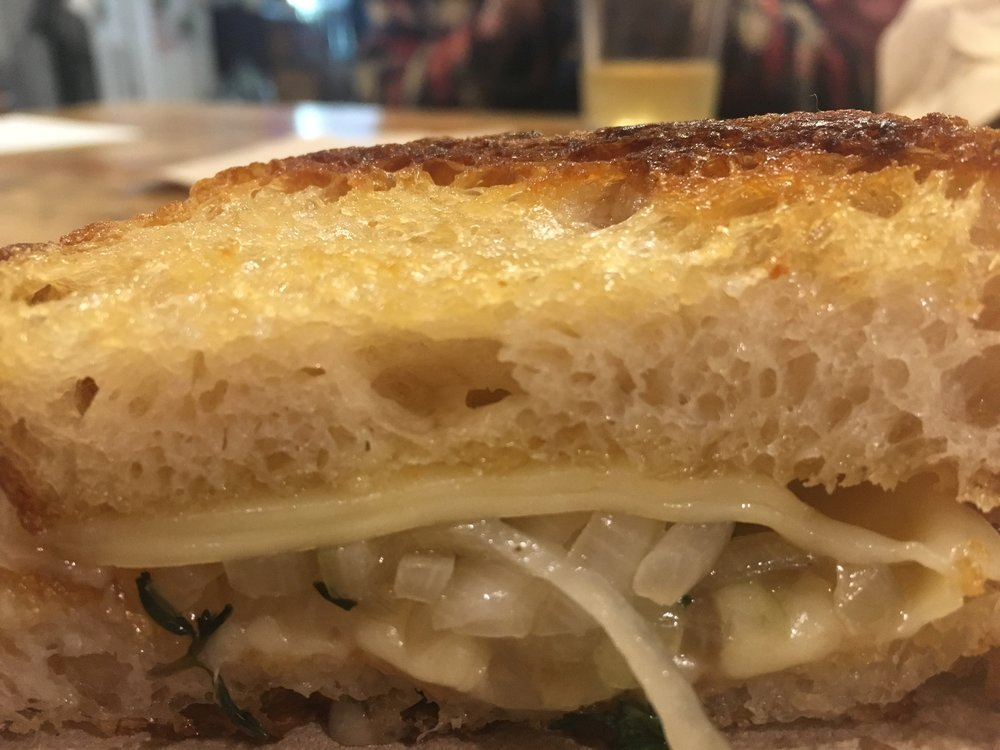 Grilled Cheese - Gruyere, shallots, and thyme