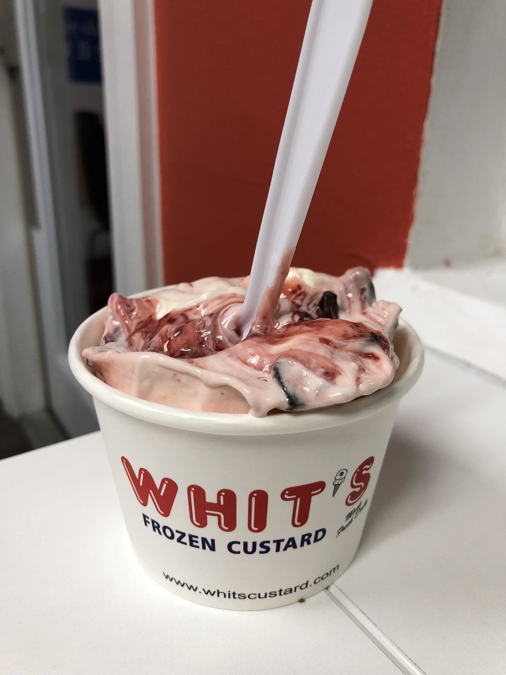 Whit's frozen custard - ...From down the way