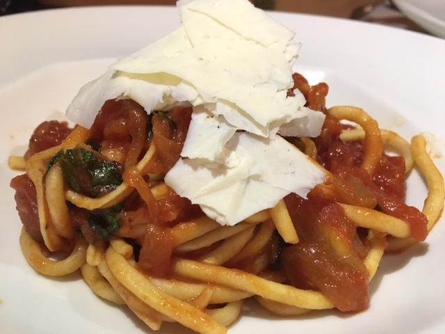 Maltagliati Pasta Con Coniglio - Pasta with Rabbit Ragu and Fresh Goat Cheese