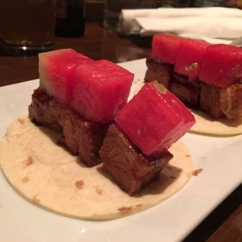 Asian Glazed pork belly taco - Image courtesy of Yelp
