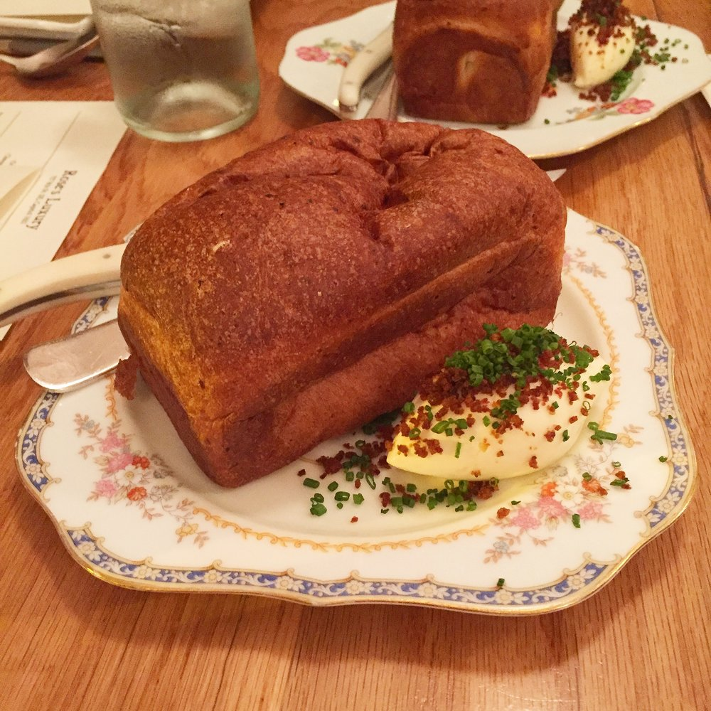 5. Rose's Luxury - Washington, DCYes, the bread put this place over the edge onto my top 5 list. Like everything on their menu, Rose's rotates out the variety of bread and compound butter, and I am so glad that this was the iteration we got to try. I mean, you add potato to bread, and then make it taste even more like a potato? Shut your mouth. This list really made me come to terms with how much I love potatoes, and that I am much more long-winded than Jason. WHO KNEW?
