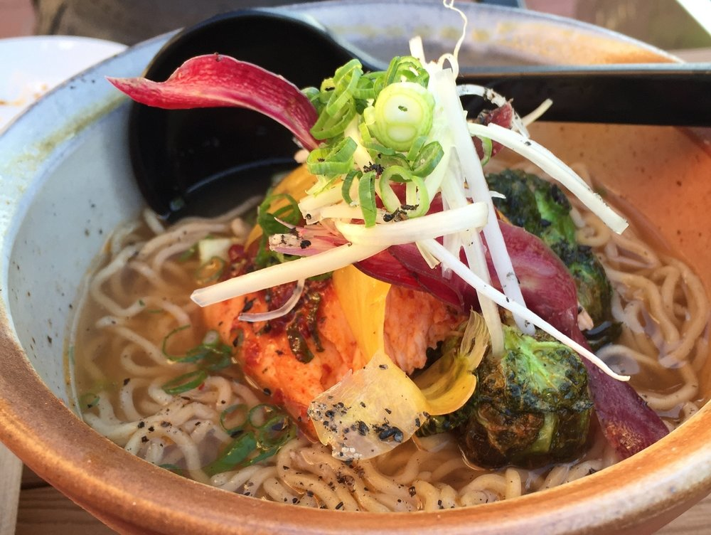 5. futo Buta - Years ago, Chef Michael Shortino was one of the first chefs to show that Charlotte was ready for good food. Futo Buta is serving up some of the best ramen in the Southeast. Our favorite is the Fire and Ice.