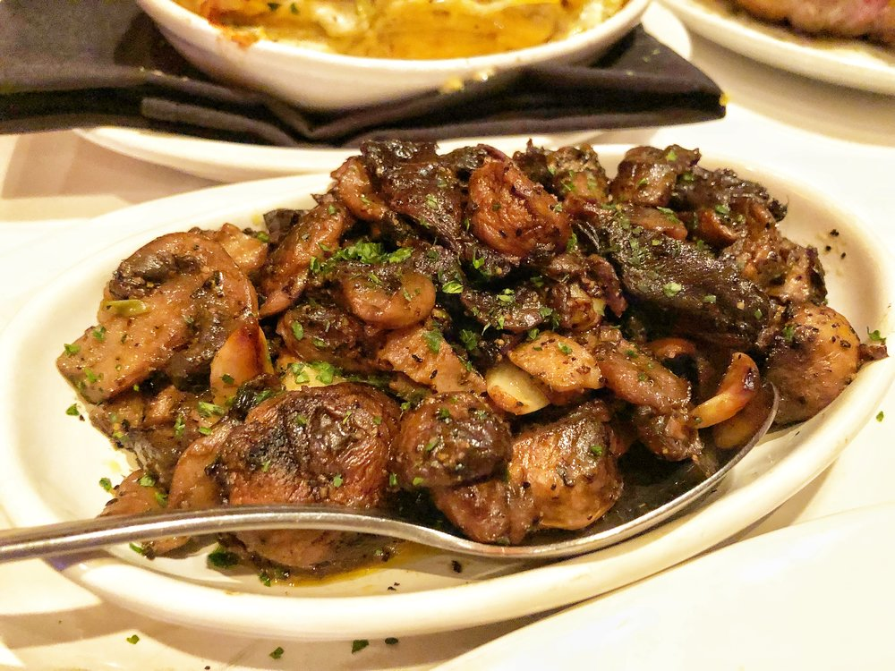 SAUTÉED MUSHROOMS - These were so buttery and perfect.