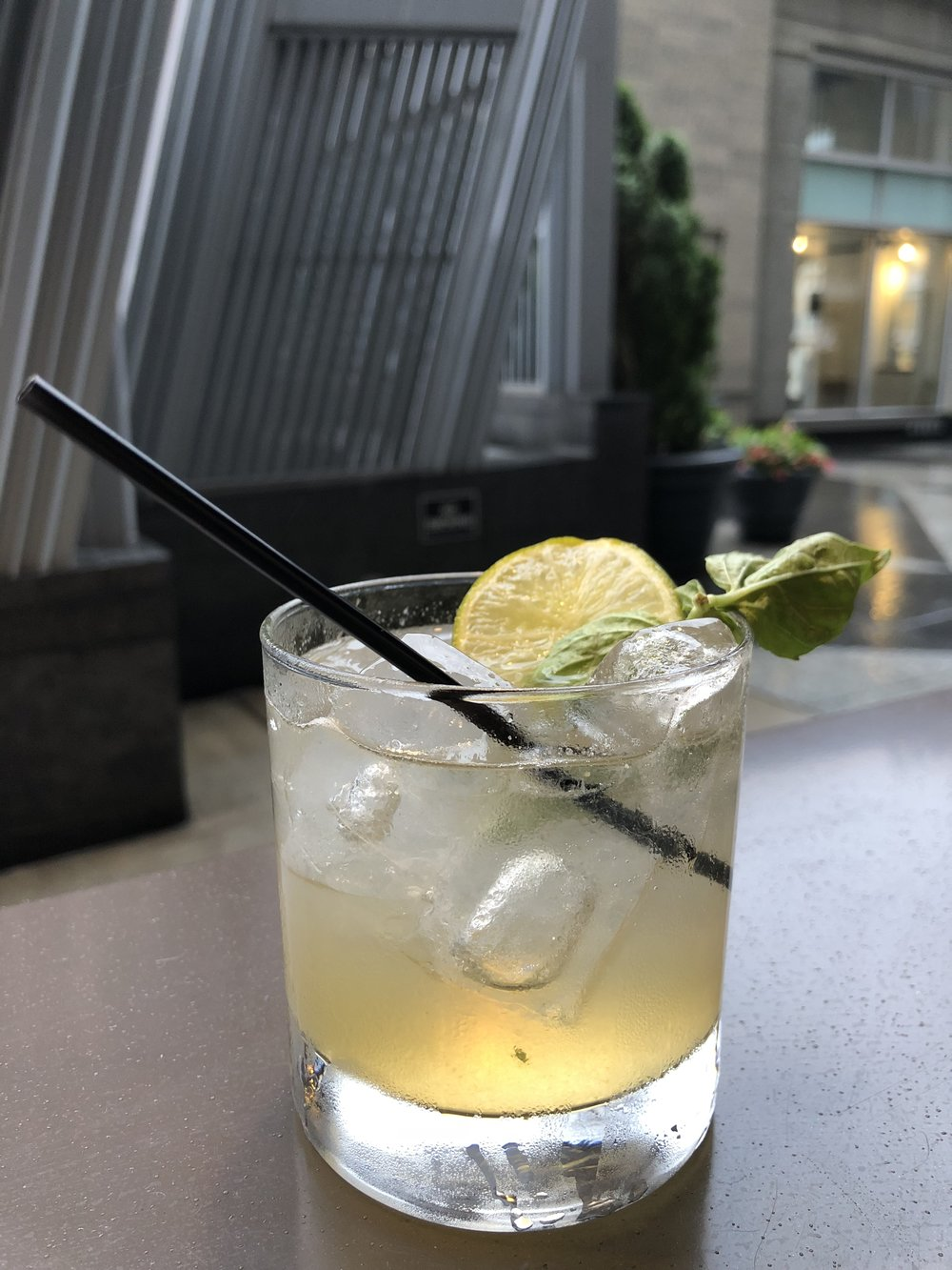 Summer G & T - Sutler's gin, house-made tonic, apricot, basil, lime