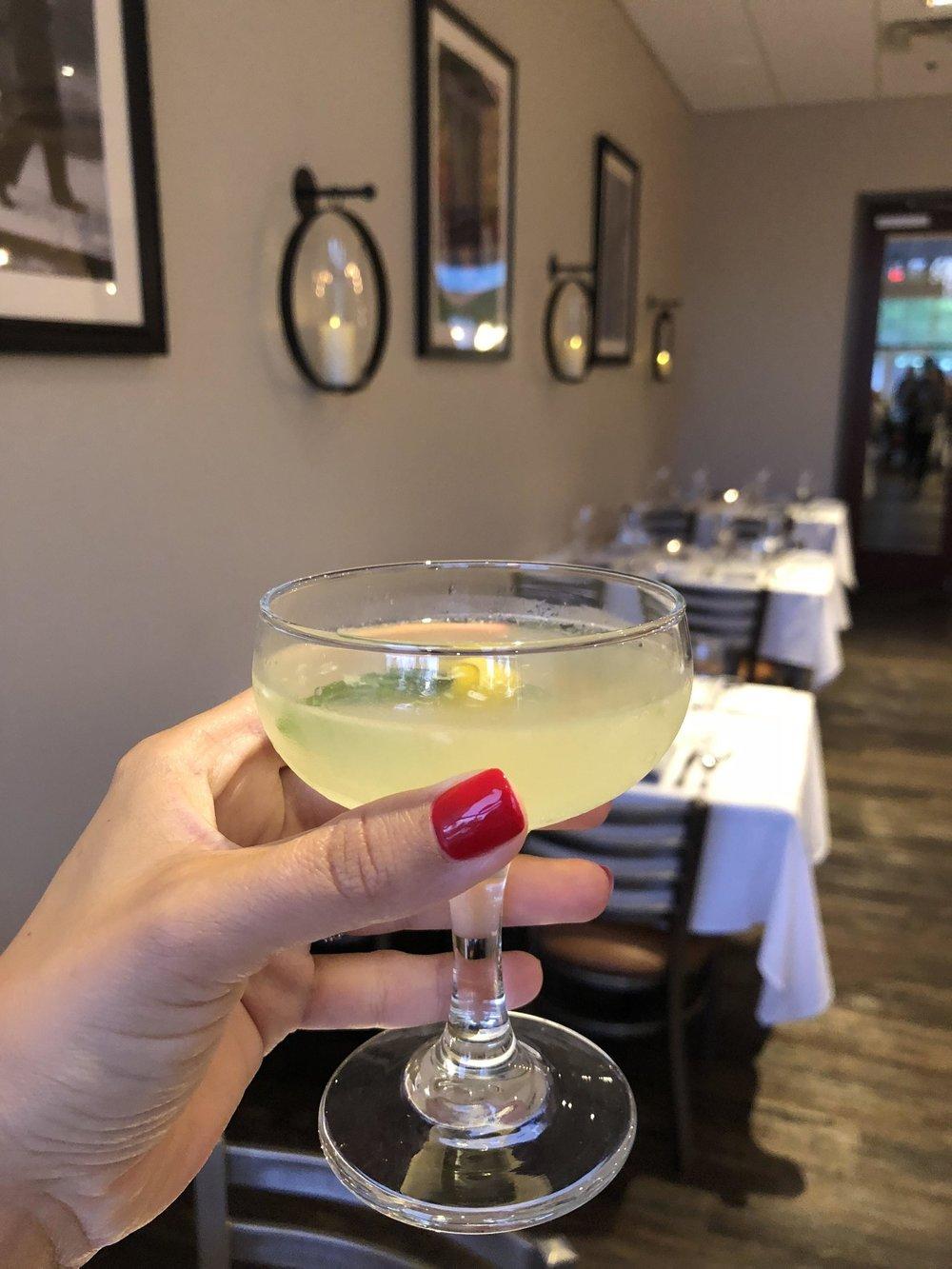 Basil Martini - Drank.