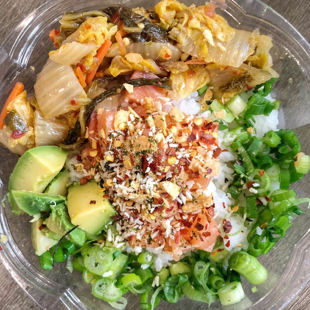 Build-Your-Own Poke Bowl - All sorts of goodness in this bowl